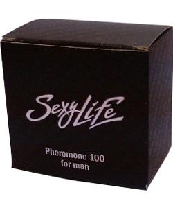 МУЖСКИЕ ДУХИ SEXY LIFE концентрированные с феромонами 85% 5мл, 107006